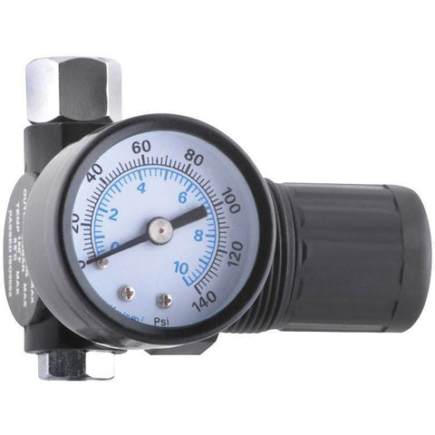 Impact Tool - Sunex Mini Diaphragm Regulator W/Pressure Gauge