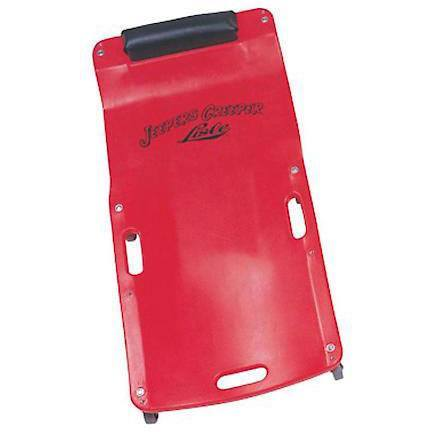 Shop Equipments - Lisle Red Low Profile Plastic Creeper