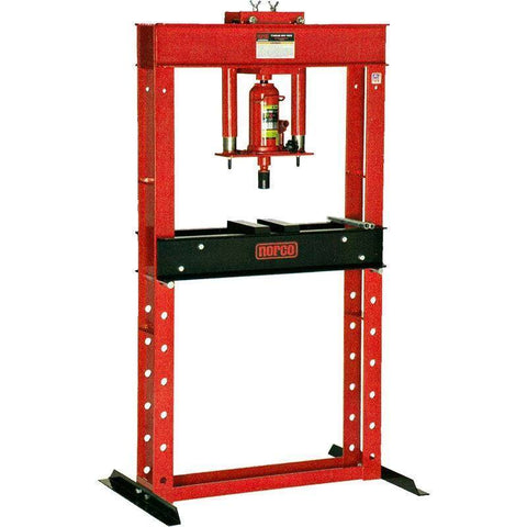 Shop Equipments - Norco 20 Ton Capacity Hand Pump Operated Shop Press