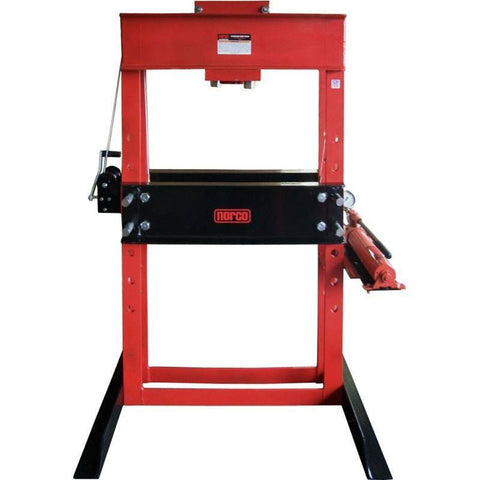 Shop Equipments - Norco 50 Ton Capacity Hand Pump Operated Shop Press