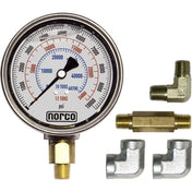 Shop Equipments - Norco Hydraulic Gauge With Fittings