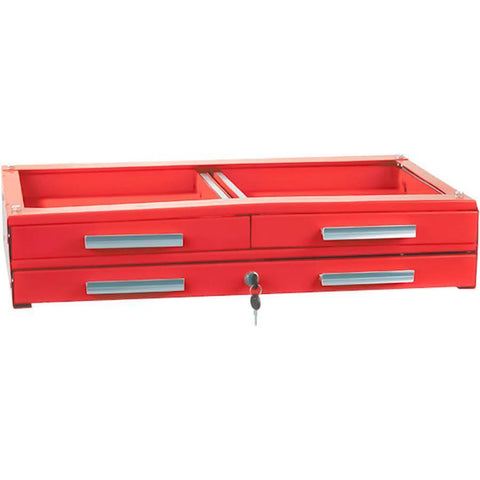 Shop Equipments - Sunex 3 Drawer Unit For Service Cart-Red