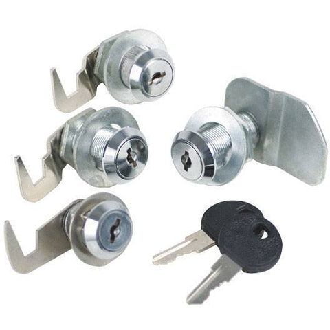 Shop Equipments - Sunex 4 Pc. Lock Set For Service Cart