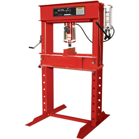 Shop Equipments - Sunex 40 Ton Shop Press W/Manual Pump