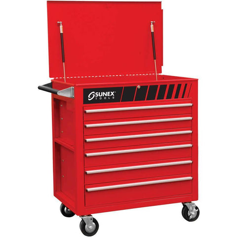 Shop Equipments - Sunex Full Drawer Professional Duty Service Cart