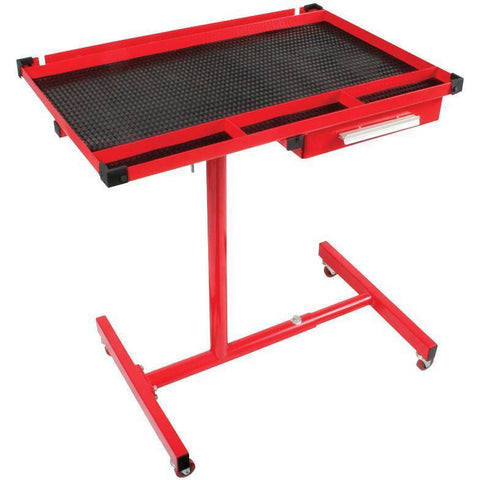 Shop Equipments - Sunex Heavy Duty Adjustable Work Table W/Drawer