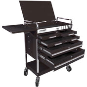 Shop Equipments - Sunex Professional 5 Drawer Service Cart W/Locking Top-Black