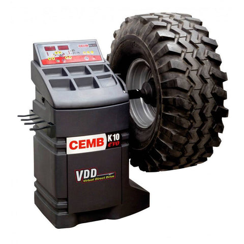 Tire Balancers - CEMB Digital Wheel Balancer ABS Base W/ Quick Release