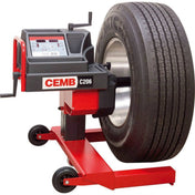 Tire Balancers - CEMB Manual Handspin Mobile Truck And Bus Wheel Balancer