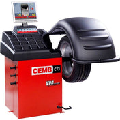 Tire Balancers - CEMB Video Wheel Balancer 15 In Flat Screen W/ Quick Release