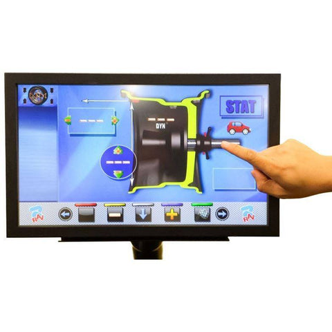 Tire Balancers - Ravaglioli Touch Screen Monitor For RAV Wheel Balancer