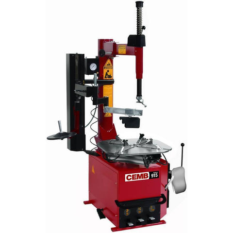 Tire Changer - CEMB HD Swing Arm Tire Changer W/ Pneumatic Low Profile And Manual Bead Pressing Tool
