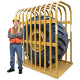 Tire Changing Tools - Ken-Tool T111 10 Bar Earthmover Tire Inflation Cage