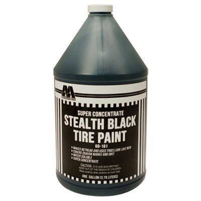 Tire Repair Supplies - AA 1 Gal Concentrate Black Tire Paint - Water-Base