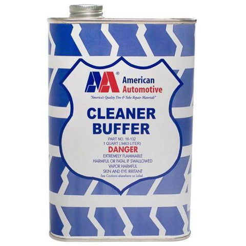 Tire Repair Supplies - AA Cleaner/Buffer Spout-Top Can