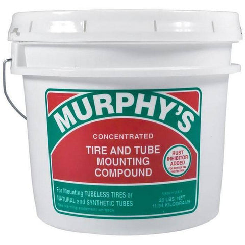 Tire Repair Supplies - Murphy's Concentrated Tire And Tube Mounting Compound (25 Lbs Pail)