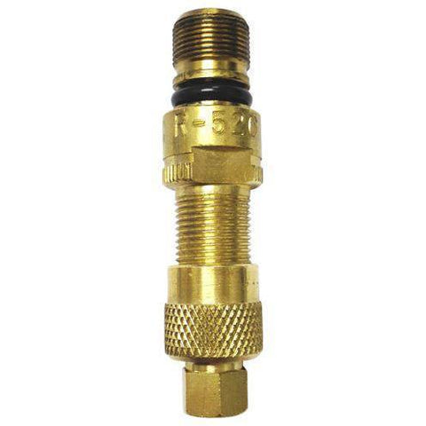 Tire Valves - Haltec Ch-8 Core Housing Complete With Core And Hex Valve Cap