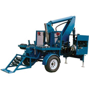 Tire + Wheel Disposal - TSI Tire Cutter (For Construction And Farm Equipment Tires)