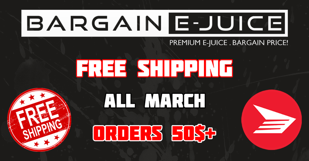 Free Shipping in March on orders 50$+