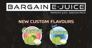 New Custom Flavours: Guava & Guava Iced!