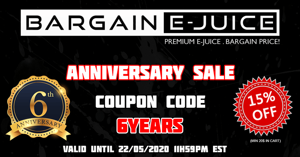 6th Anniversary Sale!