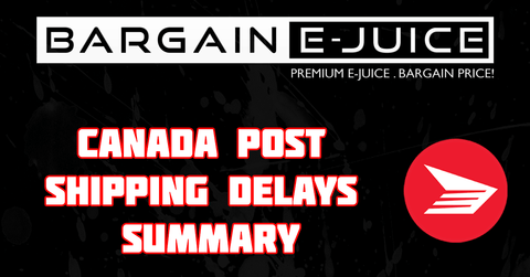 Canada Post Shipping Delays!