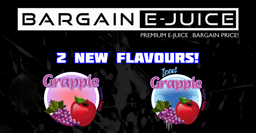 New Custom Flavours: Grapple & Grapple Iced!