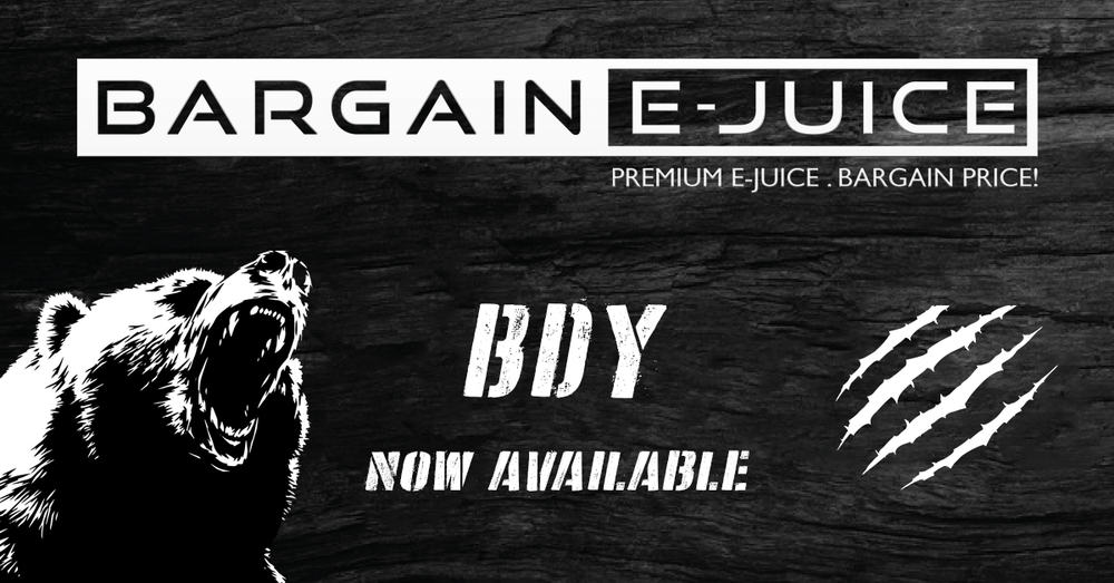BDY E-Liquids now available!