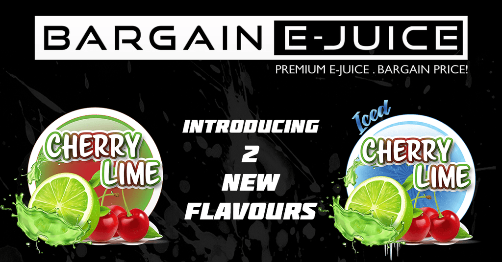 Introducing 2 New Flavours: Cherry Lime & Iced Cherry Lime