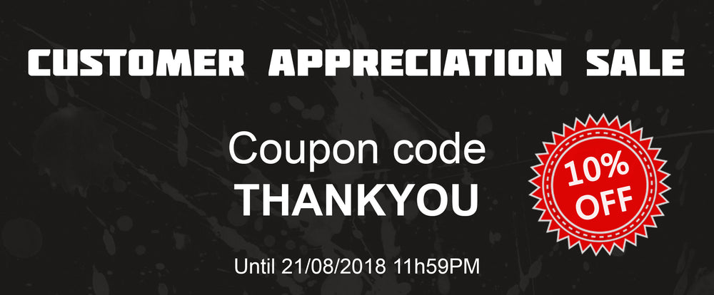 Bargain E-Juice Customer Appreciation Sale