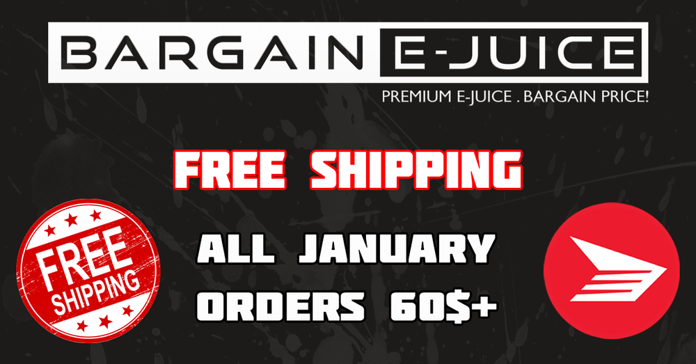Free Shipping on order 60$+ all January!