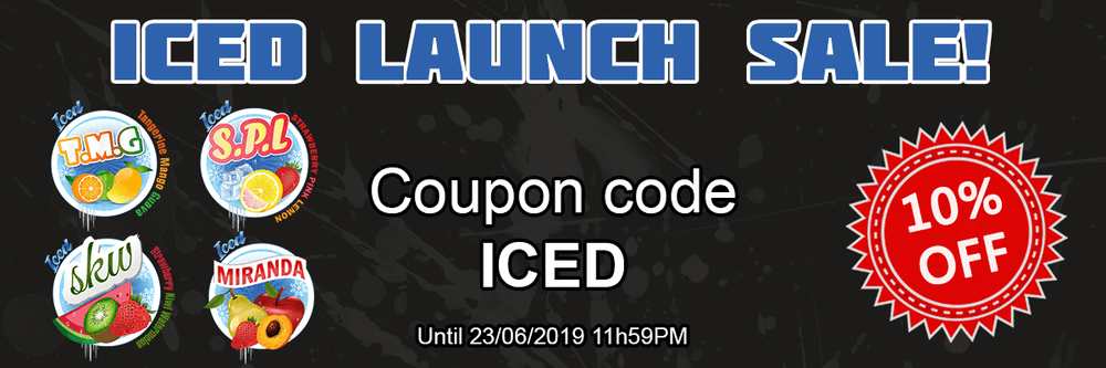 Iced Launch Sale!
