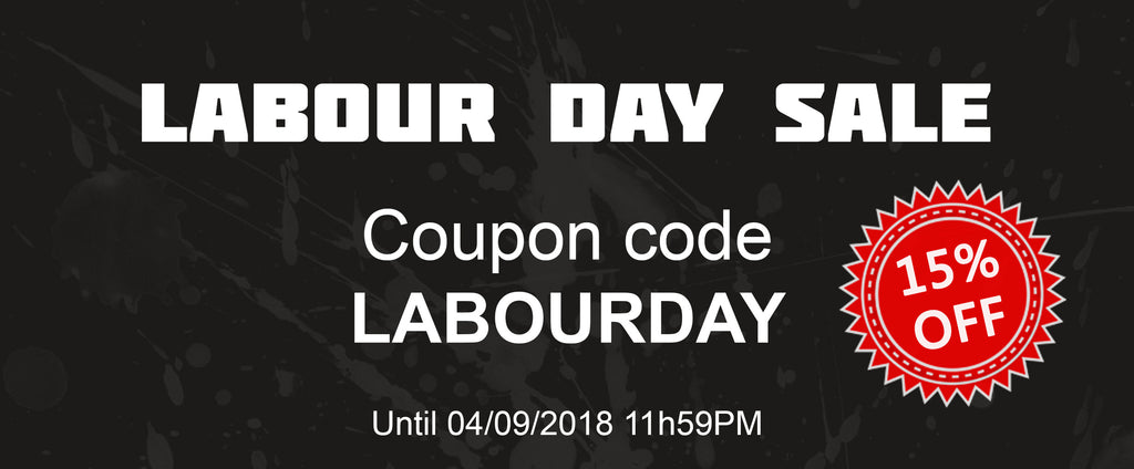 Labour Day Sale!