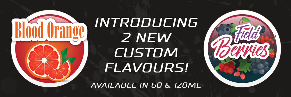 2 New custom flavours available!