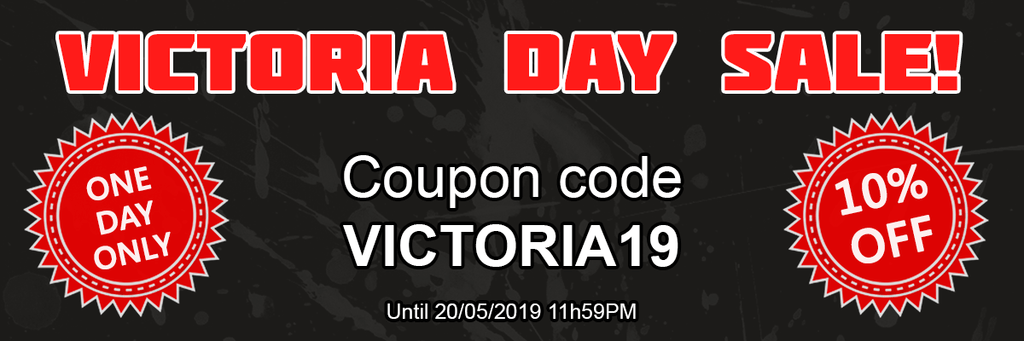 Victoria Day Flash sale!
