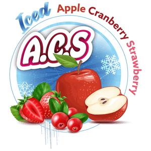 A.C.S. (Apple Cranberry Strawberry) Iced 60/120ml