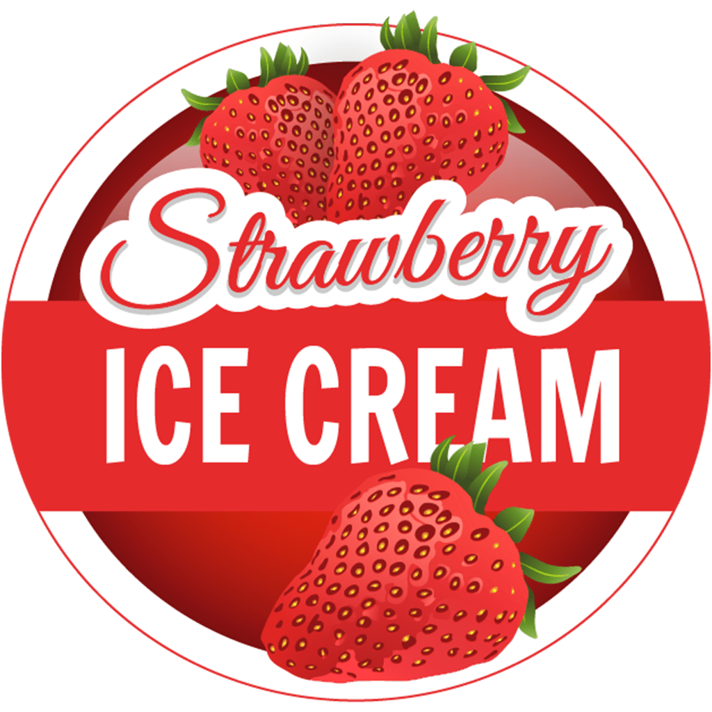S.I.C (Strawberry Ice Cream) (120ml)