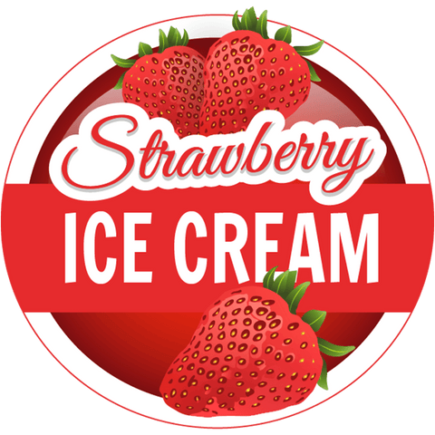 S.I.C (Strawberry Ice Cream) (120ml) (custom Ratio/Shot)