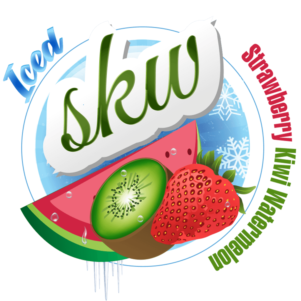 S.K.W (Strawberry Kiwi Watermelon) Iced 60/120ml