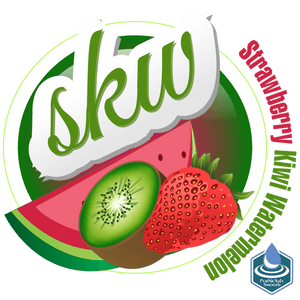 S.K.W Strawberry Kiwi Watermelon (60ml Salt Nic)