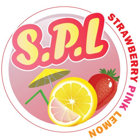 S.P.L. (Strawberry Pink Lemon) 120ml (custom Ratio/Shot)