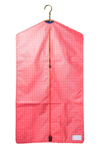 Equestrian Garment Bag - Orange Bits
