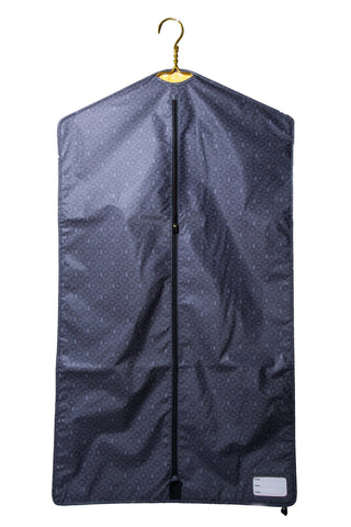 Equestrian Garment Bag - Gray Bits