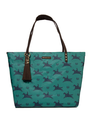 Equestrian Tote - Kelly Green