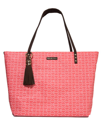 Equestrian Tote - Orange Bits