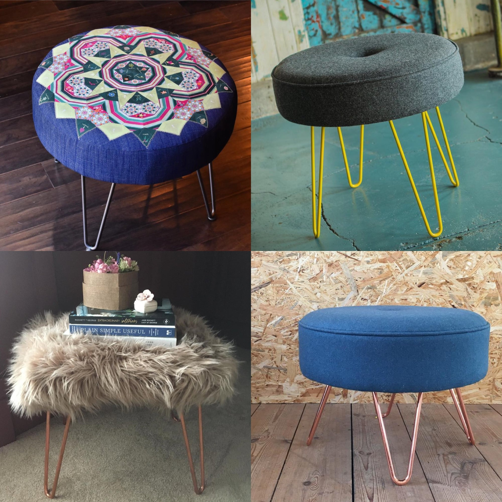 How to make a midcentury footstool you'll love