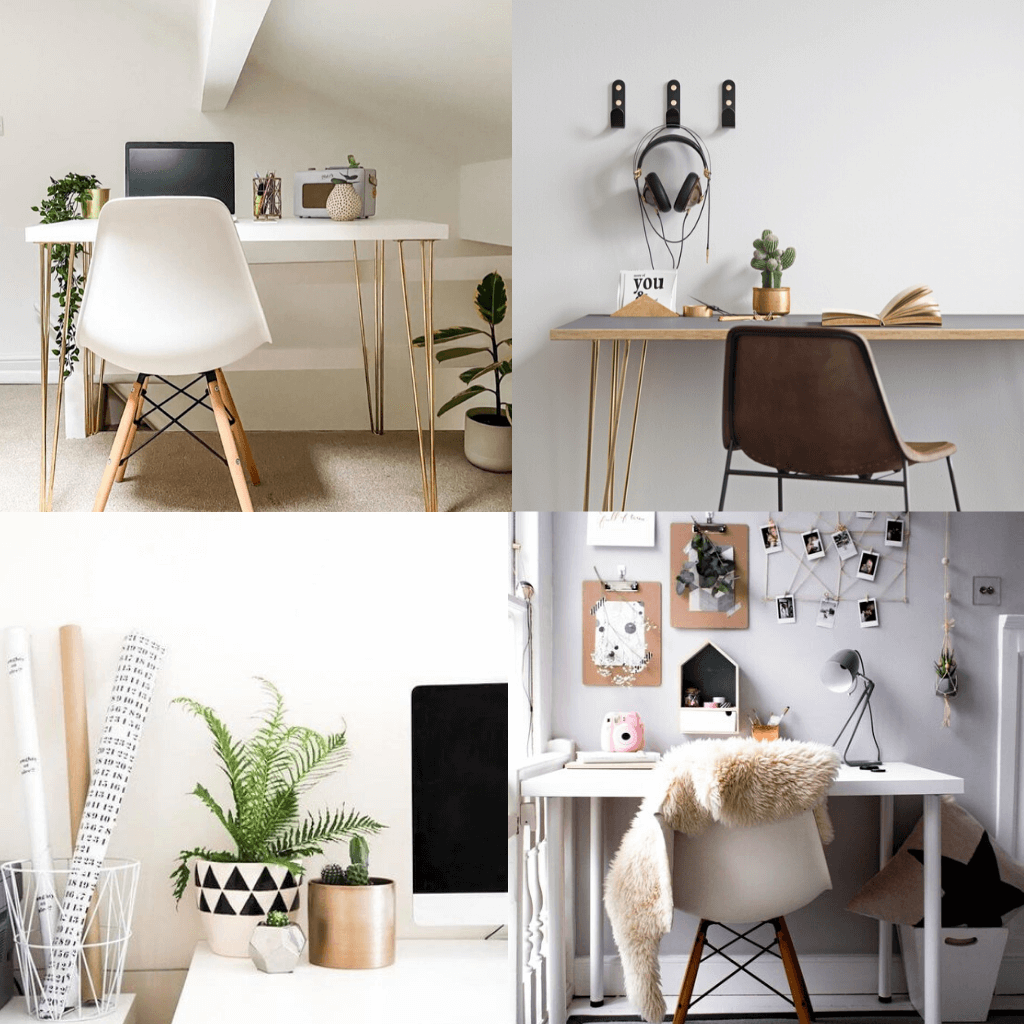 How To Style a Scandinavian Home Office