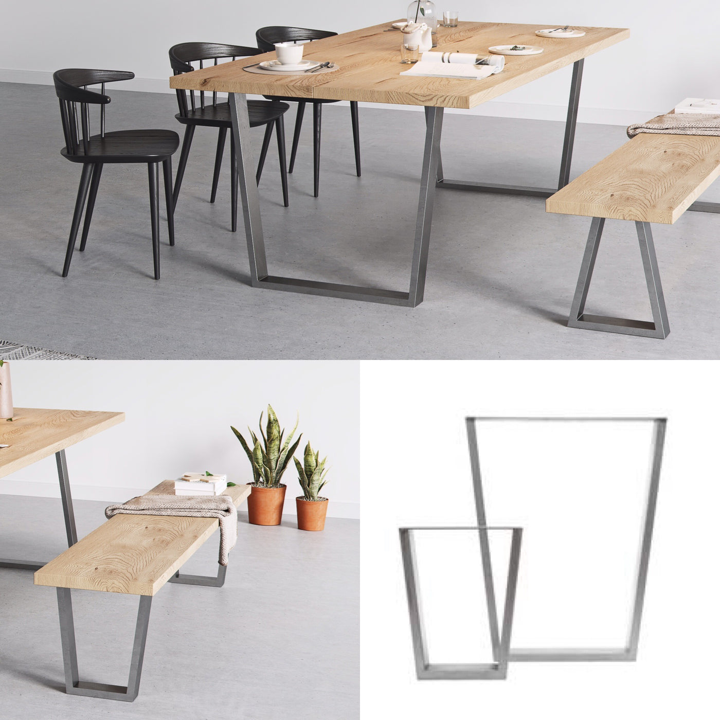 Fine New Release Industrial V Frame Table Legs Caraccident5 Cool Chair Designs And Ideas Caraccident5Info