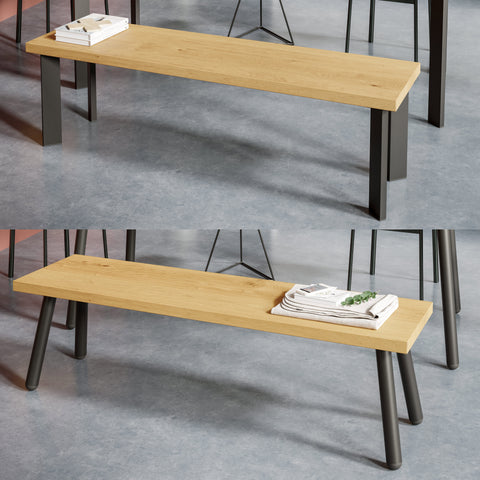 Single pin bench table legs