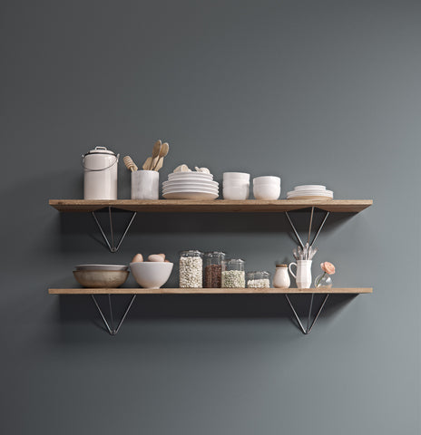 Prism shelf bracket